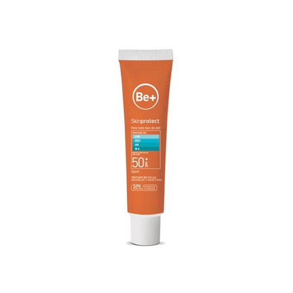 BE+ SKIN PROTECT GEL SPORT SPF50+ 75 ML.